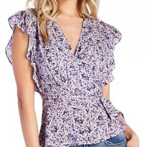 Jessica Simpson Floral Print Top